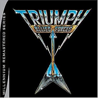 Triumph - Allied Forces [CD] USA import