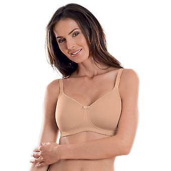 Anita Care 5706X-007 Women's Tonya Skin Beige Padded Non-Wired Support Coverage Mastectomy Full Cup Bra