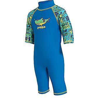 Mittelerweile Kinder Tiefsee Einteiler Badeanzug blau für Kinder von 1-6 Jahre