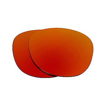 SeekOptics Replacement Lenses for Oakley Latch Polarized Red Mirror