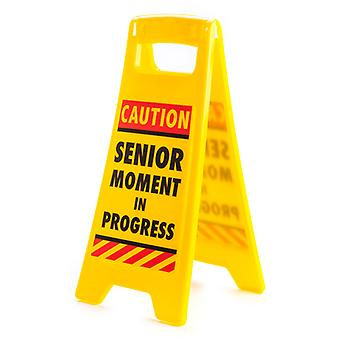 Desk Warning Sign