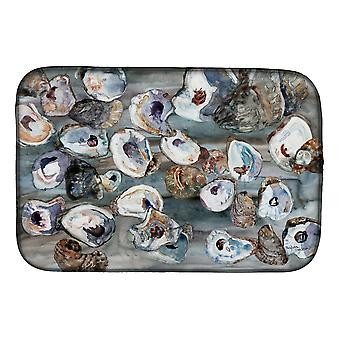 Carolines Treasures  8957DDM Bunch of Oysters Dish Drying Mat