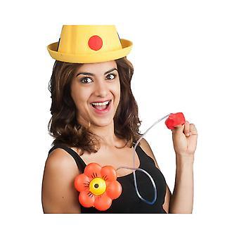 Jokes  Squirting clown flower