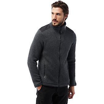 Craghoppers Herren Caledon Warm texturiert Wolle Mischung Fleece-Jacke