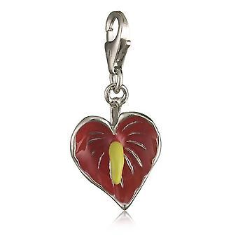 fleur de Flamingo de pendentif argent de dames de joyau du s.Oliver SOCHA/149 393393