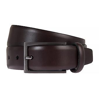SAKLANI & FRIESE belts men's belts leather belt Leather Brown 769