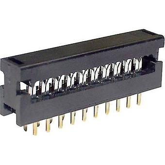 Edge connector (receptacle) LPV 25 S10 Total number of pins 10 No. of rows 2 econ connect 1 pc(s)