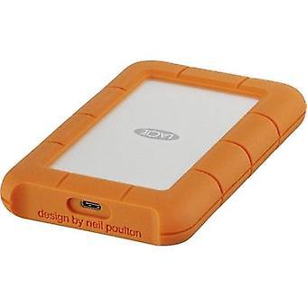 LaCie Rugged 2.5 externe harde schijf 2 TB Silver, Orange USB-C™