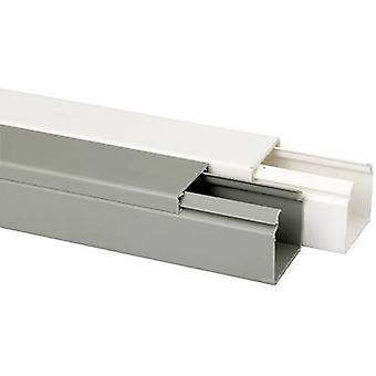 Heidemann 09976 Cable duct (L x W x H) 2000 x 40 x 40 mm 1 pc(s) Grey