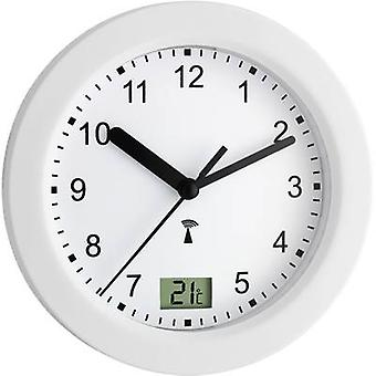 TFA Dostmann 60.3501 Radio Wall clock 17.5 cm x 5.5 cm White Suitable for bathrooms/wet rooms