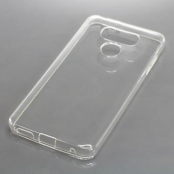 Mobile case TPU protective bumper shell for LG G6 case transparent