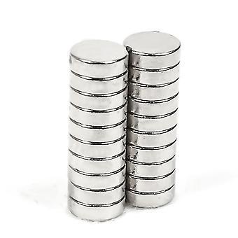 Neodymium magneetti 6 x 2 mm rengas N35 - 5 kpl