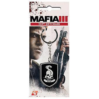Mafia III Keyring 223rd multicolor metal.