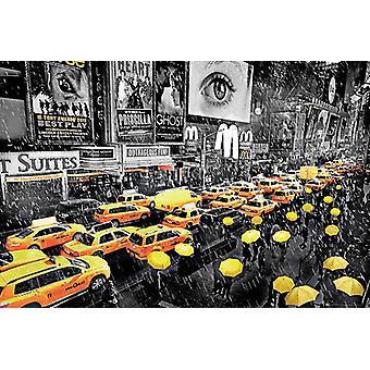 Parapluie de poster de New York
