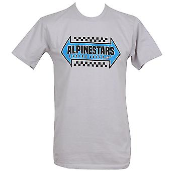 Alpinestars Men's T-Shirt ~ Opposite silver