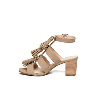 Crown & Ivy Womens Lucyn Open Toe Casual Strappy Sandals