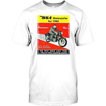 BSA motorfietsen voor 1963 - klassieke Britse fiets Kids T Shirt