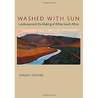 Lavado com sol: paisagem e tomada branca na África do Sul