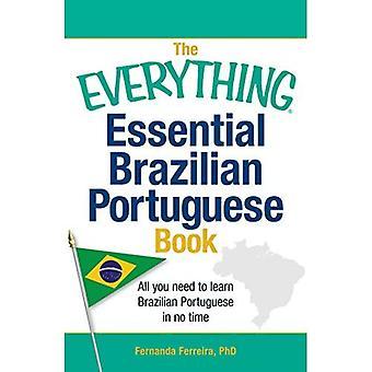 De alles essentiële Braziliaans Portugees boek