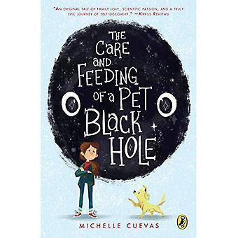 Die Pflege und Fütterung der ein Haustier schwarzes Loch