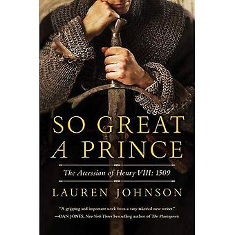 So Great a Prince