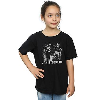 Janis Joplin Girls Spiritual Mono T-Shirt