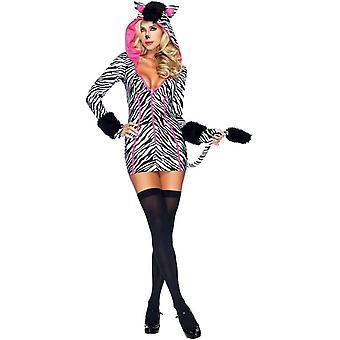 Glam Zebra Adult Costume