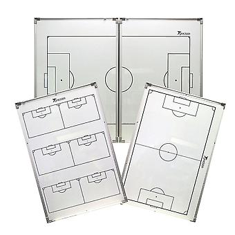 Precision Training Double-Sided Folding Football Soccer Coaches Tactics Board
