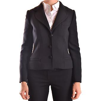 Dolce E Gabbana Ezbc006082 Dames's Black Polyester Blazer