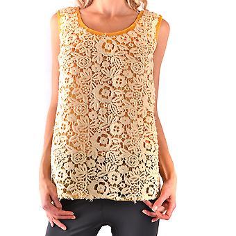 Miu Miu Ezbc057006 Naiset's Keltainen Polyesteri Pusero