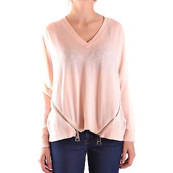 Liu Jo Ezbc086117 Women's Pink Wool Sweater