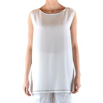 Fabiana Filippi Ezbc055046 Women's White Acetate Top