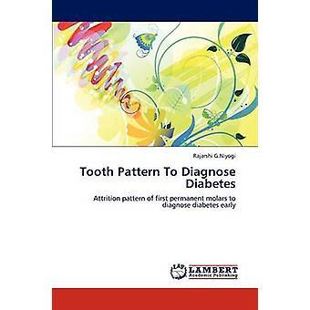 Zahn-Muster zur Diagnose von Diabetes durch G.Niyogi & Rajarshi