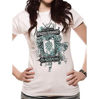 Γυναίκες ' s Χάρι Πότερ beauxbatons τοποθετημένη T-shirt