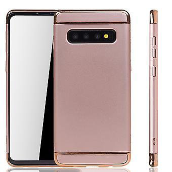 Samsung Galaxy S10 Plus Telefon etui beskyttelse tilfelle støtfanger hardt deksel rosa