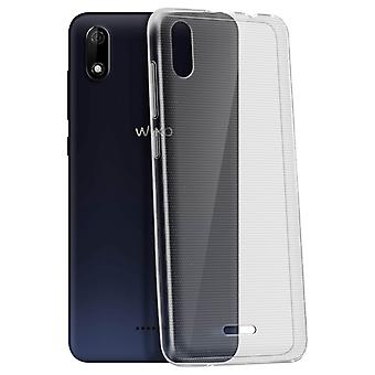 Wiko Y60 Silicone Soft Gel Fine Lightweight Anti-scratch Original Transparent