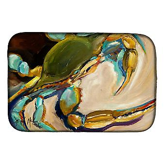 Carolines Treasures  JMK1098DDM Blue Crab Dish Drying Mat