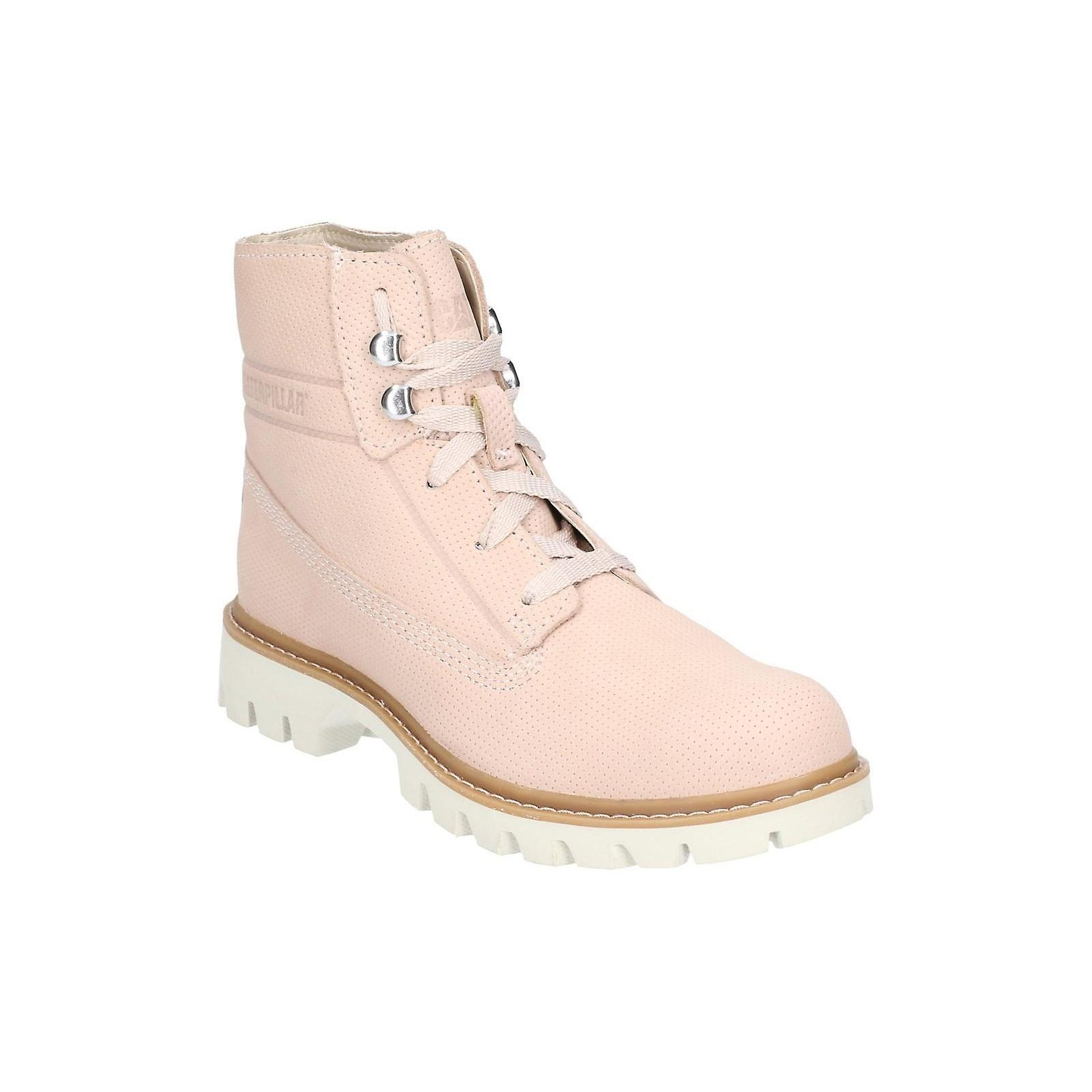 Caterpillar Womens/Ladies Basis Lace Up Leather Boot e2Woo
