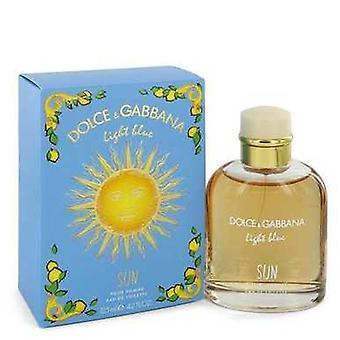 Light Blue Sun By Dolce & Gabbana Eau De Toilette Spray 4.2 Oz (men) V728-546084