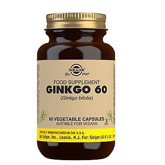 Solgar Ginkgo 60mg Vegicaps 60 (3914)