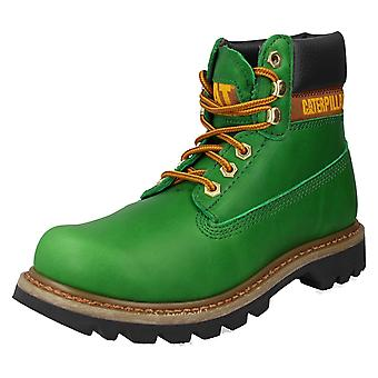 Ladies Caterpillar Casual Lace Up Ankle Boots Colorado