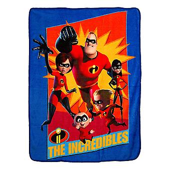 Super Soft Throws - Incredibles - Family Heroes New 45x60