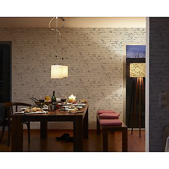 A.S. Creation AS Creation Painted Brick Wall Faux Effect Embossed Mural Wallpaper 907837