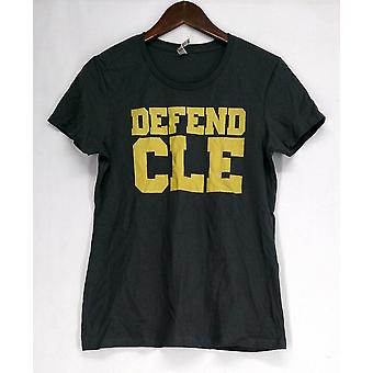 LC Trendz Cleveland Basketball Top Charcoal Gray Womens