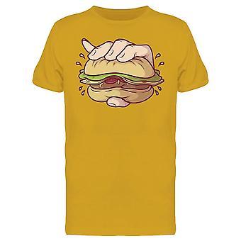 Esmagar Burger tee Men ' s-imagem por Shutterstock