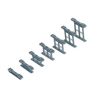 Hornby 00 Gauge Inclined Piers (Set of 7)