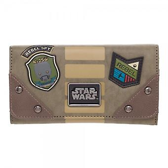 Wallet - Rogue One - Rebel Jrs. Flap Pures New Licensed gw4kykstw