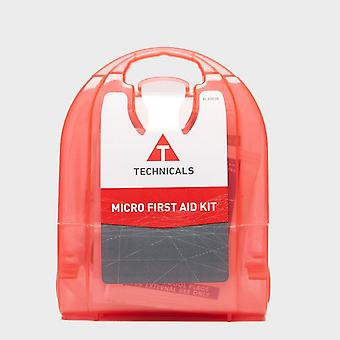 New Technicals Micro First Aid Kit Outdoors Camping Red
