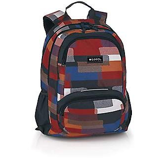 Gabol Mochila Stick 34x46x20cm Children's backpack - 46cm - Blue (Multicolor)