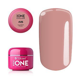 Base one-Color-La Viva Pink 5g UV Gel